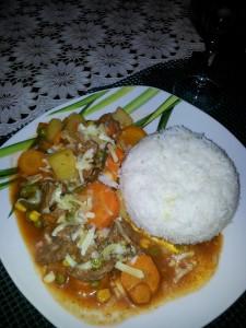 Beef Caldareta