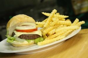 Shamrock Cheeseburger