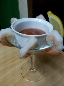 Shrimp Cocktail Now Available At The Pub