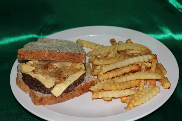 Irish Patty Melt Burger