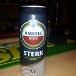 New Imported Beer Amstel Sterk Dark